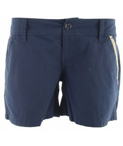 Planet Earth Oxford Shorts Dark Denim