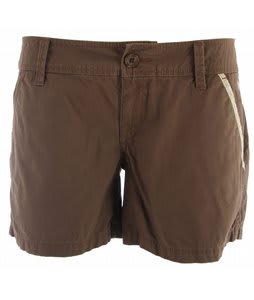Planet Earth Oxford Shorts Nutella Brown