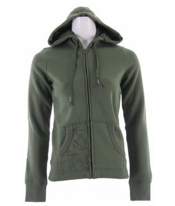 Planet Earth Passage Fullzip Hoodie Chive Heather
