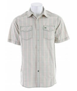 Planet Earth Patterson S/S Shirt Mid Khaki/Green