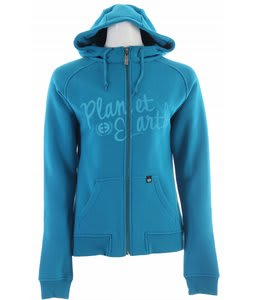 Planet Earth Prism Hoodie Blue Jewel