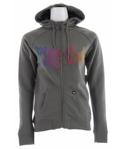 Planet Earth Prism Hoodie Pale Charcoal