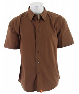 Planet Earth Raven S/S Shirt Nutella Brown