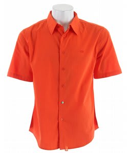 Planet Earth Raven S/S Shirt Spicy Orange