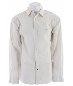 Planet Earth Robinson L/S Shirt Natural White