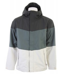 Planet Earth Rossmans Snowboard Jacket Swamp Green/Rainy Day/Celery