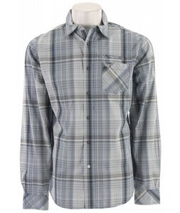 Planet Earth Sanders Plaid L/S Shirt Deniplaid