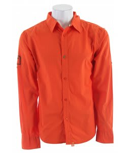 Planet Earth Scout L/S Shirt Spice Orange