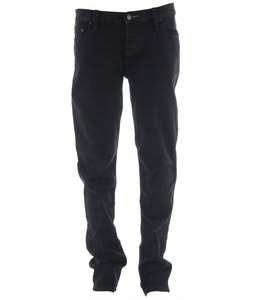 Planet Earth Slim Stretch Jeans Black Overdyed/Black Wash