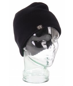 Planet Earth Solid Beanie Black