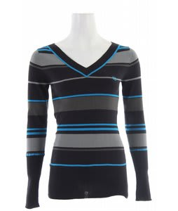 Planet Earth Stripes Sweater Black Stripe