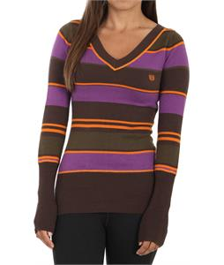 Planet Earth Stripes Sweater Brown Stripe