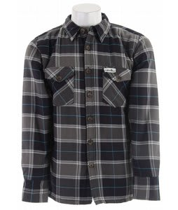 Planet Earth Traverse Flannel Shirt Black