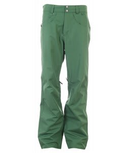 Planet Earth Upshot Shell Snowboard Pants Crabgrass Green