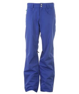Planet Earth Upshot Shell Snowboard Pants Ultra Marine Blue