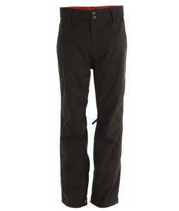 Planet Earth Upshot Shell Snowboard Pants Black Twill
