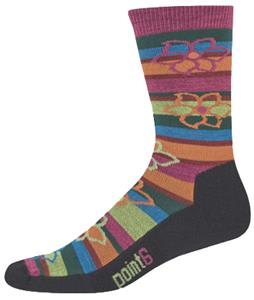 Point6 Bolivian Stripe Extra Light 3/4 Crew Socks
