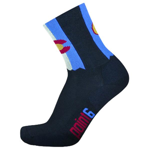Point6 Coolrado High Extra Light 3/4 Crew Socks