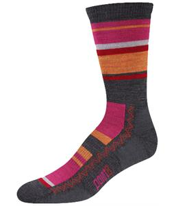 Point6 Multi Stripe Light Crew Socks