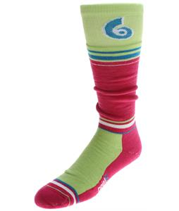 Point6 Snowboard Legend Medium OTC Socks Lipstick