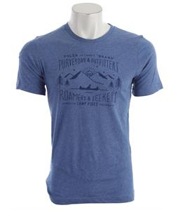 Poler Canoe T-Shirt Heather Blue