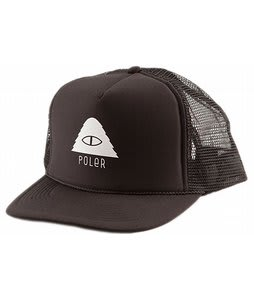 Poler Cyclops Trucker Cap Solid Black