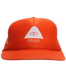 Poler Cyclops Trucker Cap Solid Orange