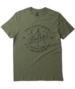 Poler Enlightenment T-Shirt Army Green