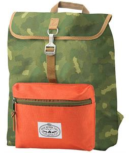 Poler Field Backpack Camo/Orange
