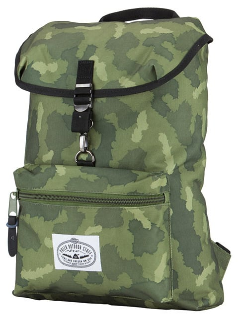 Poler Field Pack Backpack Green Furry Camo