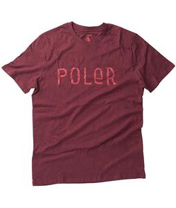 Poler Furry Font T-Shirt Vino