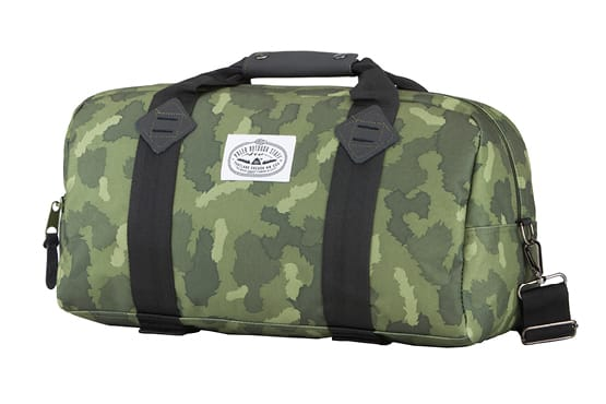 Poler Mini Duffaluffagus Duffle Bag Green Furry Camo