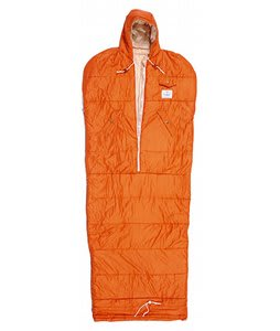 Poler Nap Sack Sleeping Bag Burnt Orange Medium (4'6