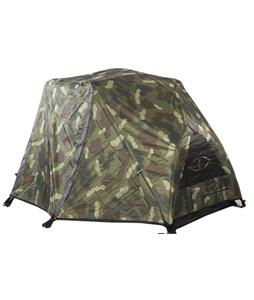 Poler One Man Tent Green Furry Camo