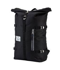 Poler Roll Top Backpack Black