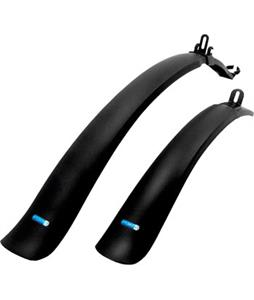 Portland Design Works Soda Pop Mtb Width Clip On Bike Fender Set Black 26-29in