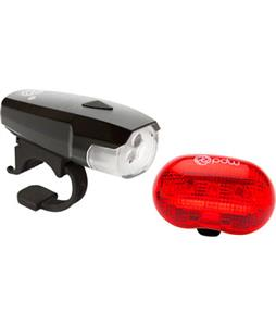 Portland Design Works Spaceship 3 Headlight And Red Planet Tailight Bike Light Set