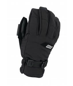 Pow XG Short Gloves Black