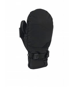 Pow XG Short Mittens Black