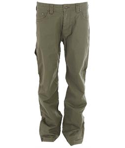 Prana Bronson 32in Casual Pants Cargo Green