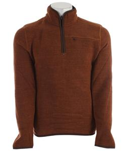 Prana Bryce 1/4 Zip Sweater Auburn