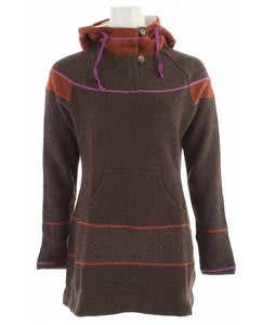 Prana Caitlyn Tunic Sweater Espresso
