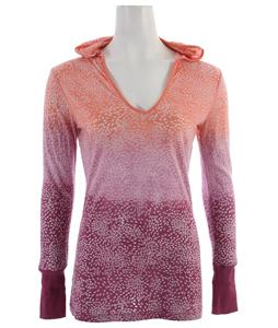 Prana Julz Hoodie Top Berry