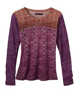Prana Lottie Shirt Red Violet