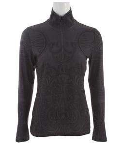 Prana Mabel Half Zip Shirt Black