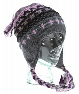 Prana Marci Tassel Beanie Purple