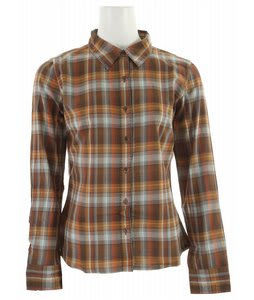 Prana Riley Woven Shirt Espresso
