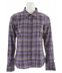 Prana Riley Woven Shirt Purple