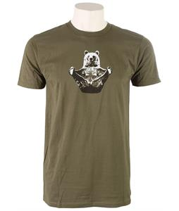Prana Yogi T-Shirt Military Green