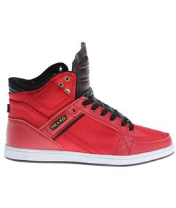 Praxis Balance Skate Shoes Hi Red